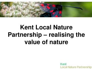 Kent Local Nature Partnership – realising the value of nature