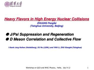 Heavy Flavors in High Energy Nuclear Collisions