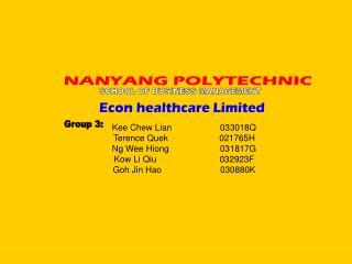 Kee Chew Lian 033018Q Terence Quek                     021765H Ng Wee Hiong 031817G