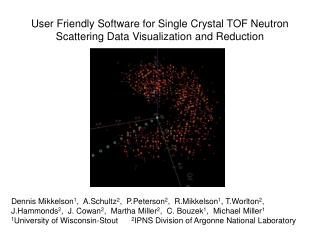 User Friendly Software for Single Crystal TOF Neutron Scattering Data Visualization and Reduction