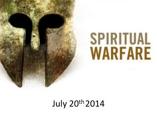 July 20 th 2014