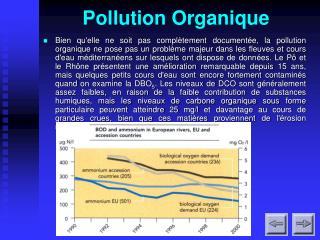 Pollution Organique