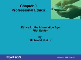 Chapter 9 Professional Ethics