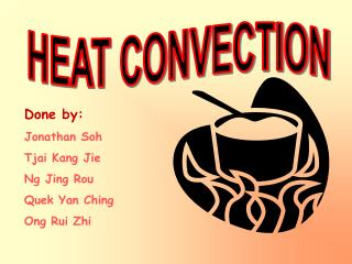 HEAT CONVECTION