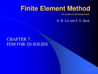 F inite Element Method