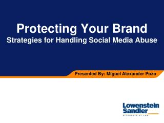 Protecting Your Brand Strategies for Handling Social Media Abuse
