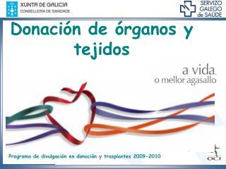 Donación de órganos y tejidos