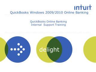 QuickBooks Online Banking Internal  Support Training