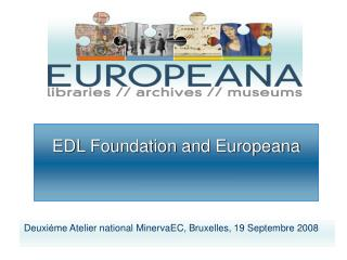 EDL Foundation and Europeana