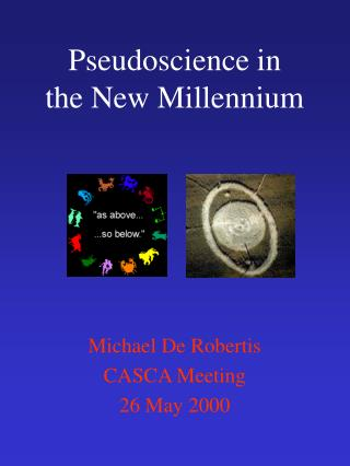 Pseudoscience in the New Millennium