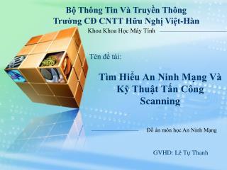 T�m Hi?u An Ninh M?ng V� K? Thu?t T?n C�ng Scanning