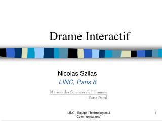 Drame Interactif
