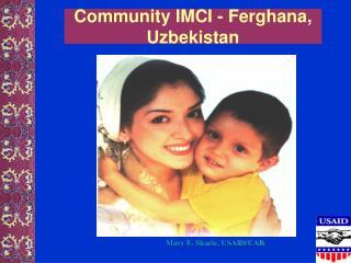 Community IMCI - Ferghana, Uzbekistan