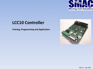 LCC10 Controller Training, Programming and Application
