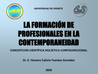 LA FORMACIÓN DE PROFESIONALES EN LA CONTEMPORANEIDAD
