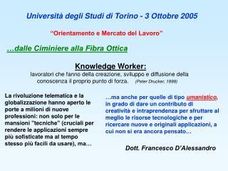 Dott. Francesco D'Alessandro