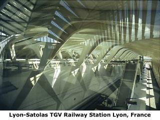 Lyon-Satolas TGV Railway Station Lyon, France