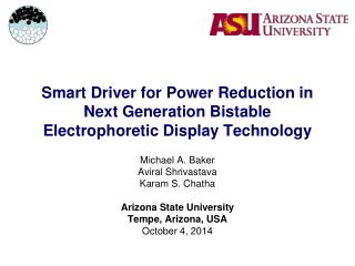 Smart Driver for Power Reduction in Next Generation Bistable Electrophoretic Display Technology