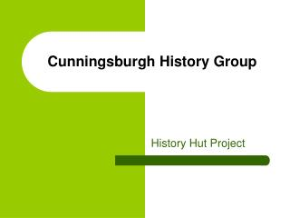 Cunningsburgh History Group