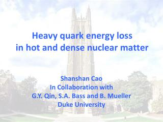 Heavy quark energy loss  in hot and dense nuclear matter