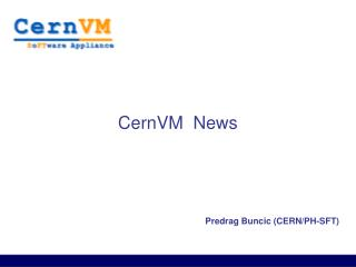 CernVM  News