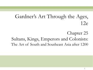 Gardner's Art Through the Ages, 12e
