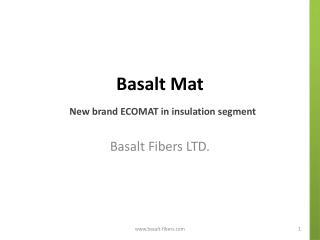 Basalt Mat