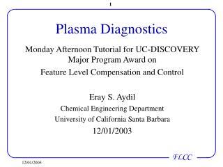 Plasma Diagnostics