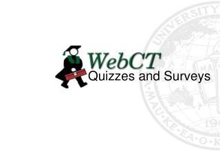 Quizzes and Surveys