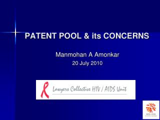 PATENT  POOL & its CONCERNS