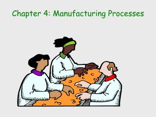 Chapter 4: Manufacturing Processes