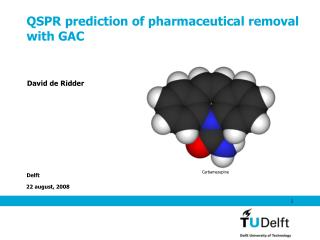 QSPR prediction of pharmaceutical removal with GAC