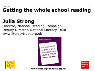 Imagine what a difference  it would make if every child  loved to read