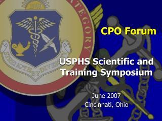 CPO Forum