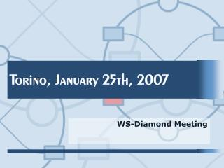 Torino, January 25th, 2007