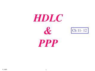 HDLC & PPP