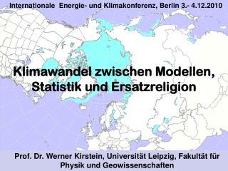 Prof. Dr. Werner Kirstein, Universität Leipzig, Fakultät für Physik und Geowissenschaften