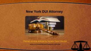 New York DUI Attorney