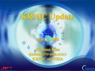 KRNIC Update