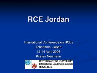 RCE Jordan