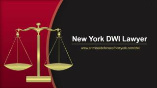 New York DWI Lawyer
