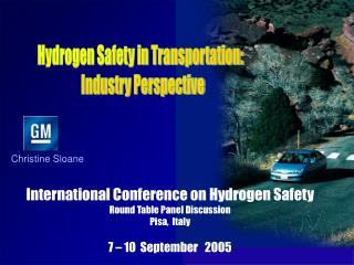 Hydrogen Safety in Transportation:   Industry Perspective