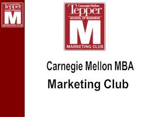 Carnegie Mellon MBA