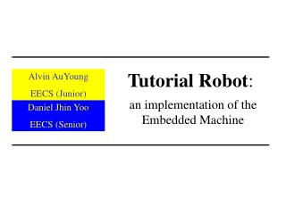 Tutorial Robot :