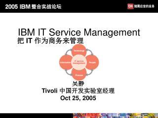 IBM IT Service Management
