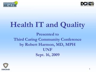 Health IT and Quality