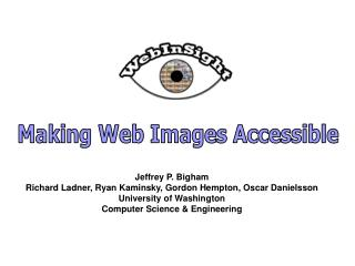 Making Web Images Accessible
