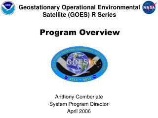Geostationary Operational Environmental Satellite (GOES) R Series