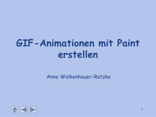 GIF-Animationen mit Paint erstellen
