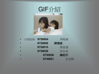 GIF 介紹